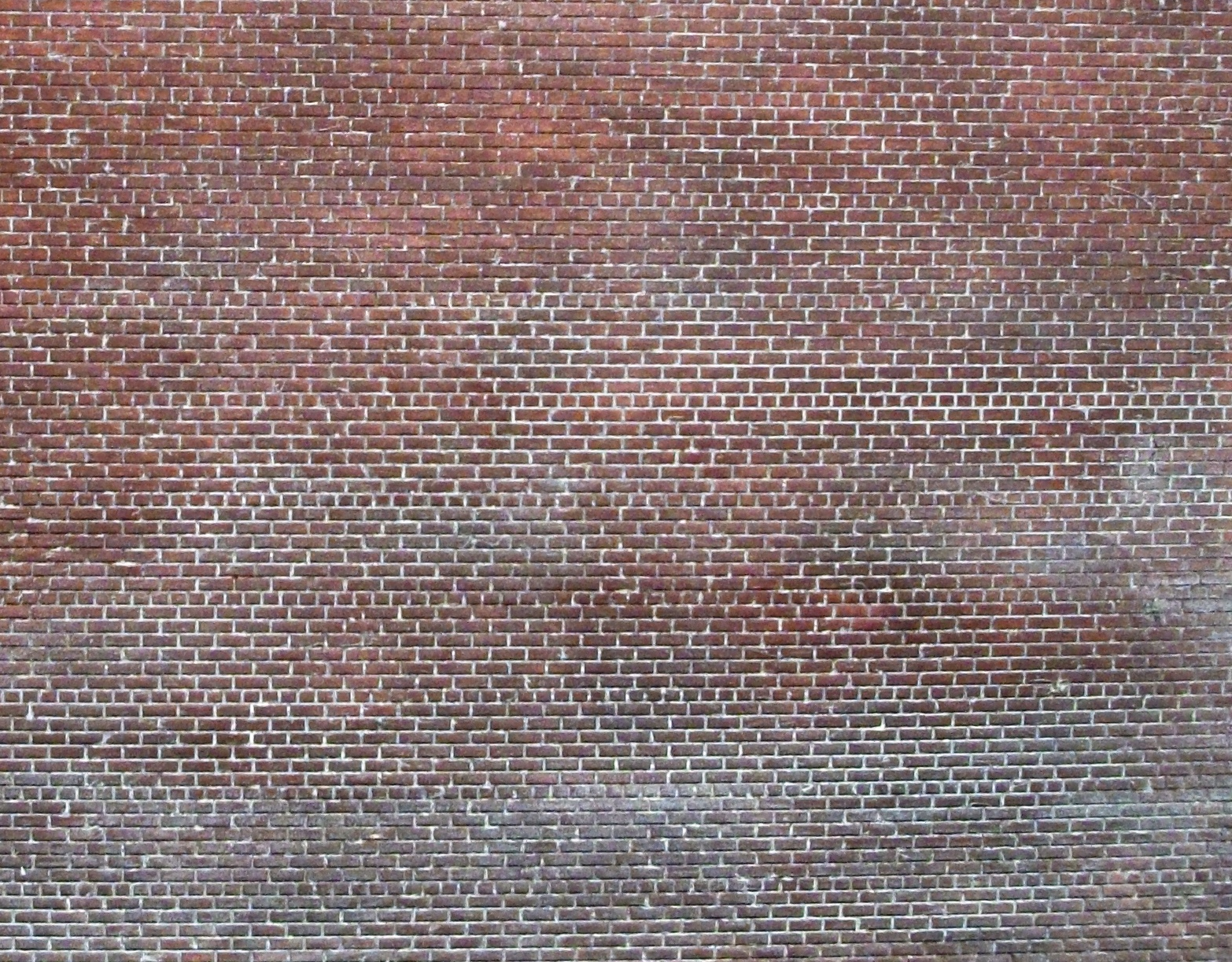 Ho Scale Brick Walls New England Brownstone